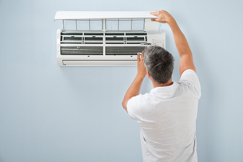 Split system air con repairs and maintenance