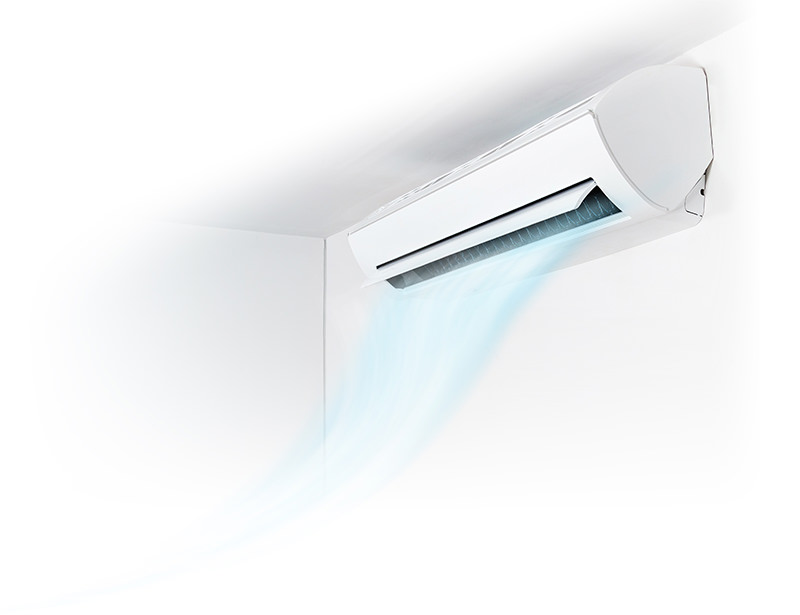 Split system air conditioner Bow Bowing